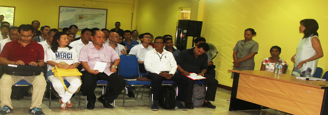 Pre-Bid Meeting for Upgrading and Maintenance of Baucau-Lautem Section